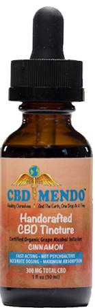 CBD Mendo Tincture (Cinnamon)