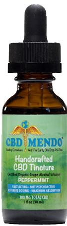 CBD Mendo Tincture (Peppermint)