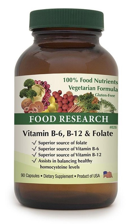 Vitamin B-6, B-12 & Folate